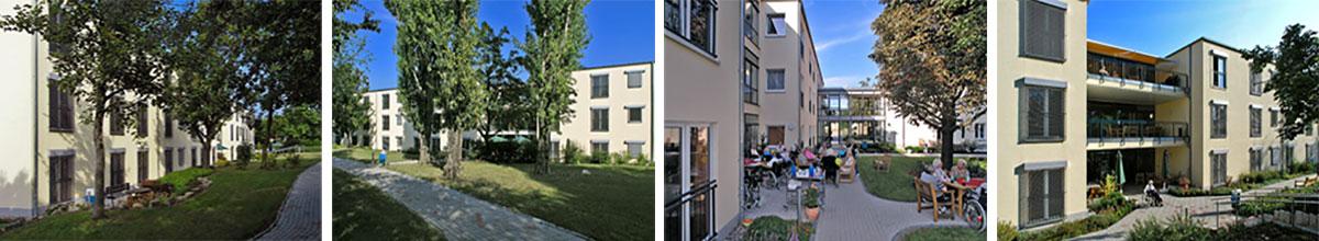 Pflegeheim Erfurt Aussen Garten Terrassen